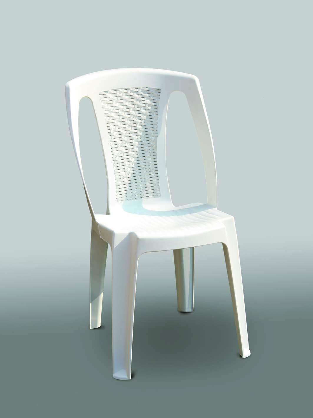 Comment Nettoyer Des Chaises En Plastique Blanc chaise bistrot procida blanc