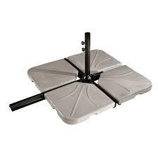dalle b ton parasol decentre taupe 25kg. Black Bedroom Furniture Sets. Home Design Ideas