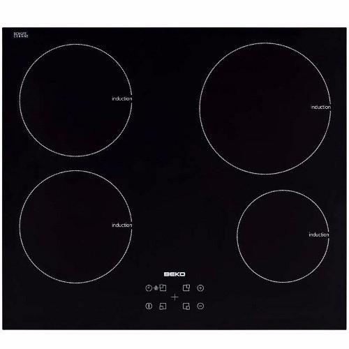 plaque de cuisson induction 4 foyers beko hii64400at. Black Bedroom Furniture Sets. Home Design Ideas