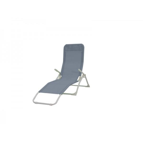 Gris Chaise Metal Chaise Basculante Longue b7f6gy